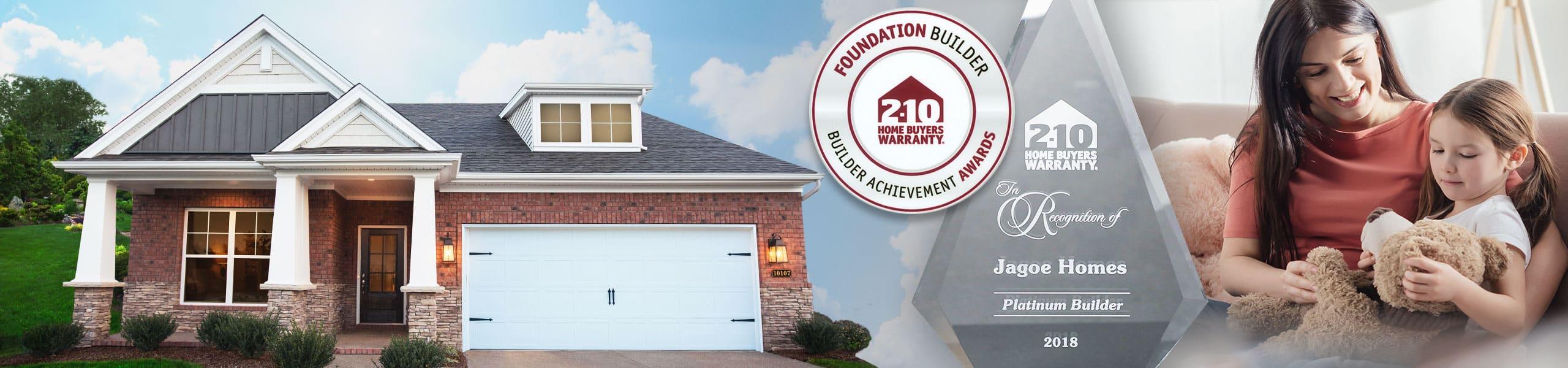 Jagoe Homes 2-10 Home Buyer Warranty