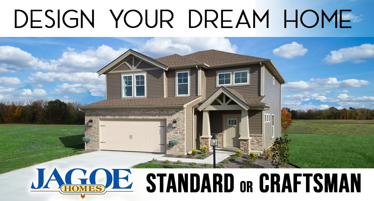 Jagoe Homes Design Your Dream Home - Standard or Craftsman Style Homes
