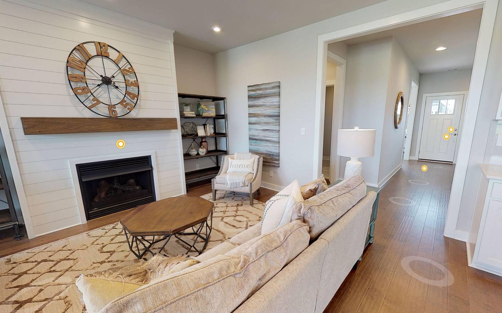 Jagoe Homes Stanford Living Area