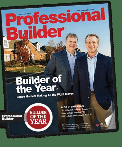 Bill & Scott Jagoe on Builder of the Year Magazine