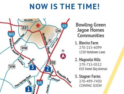 Bowling Green Parade Map