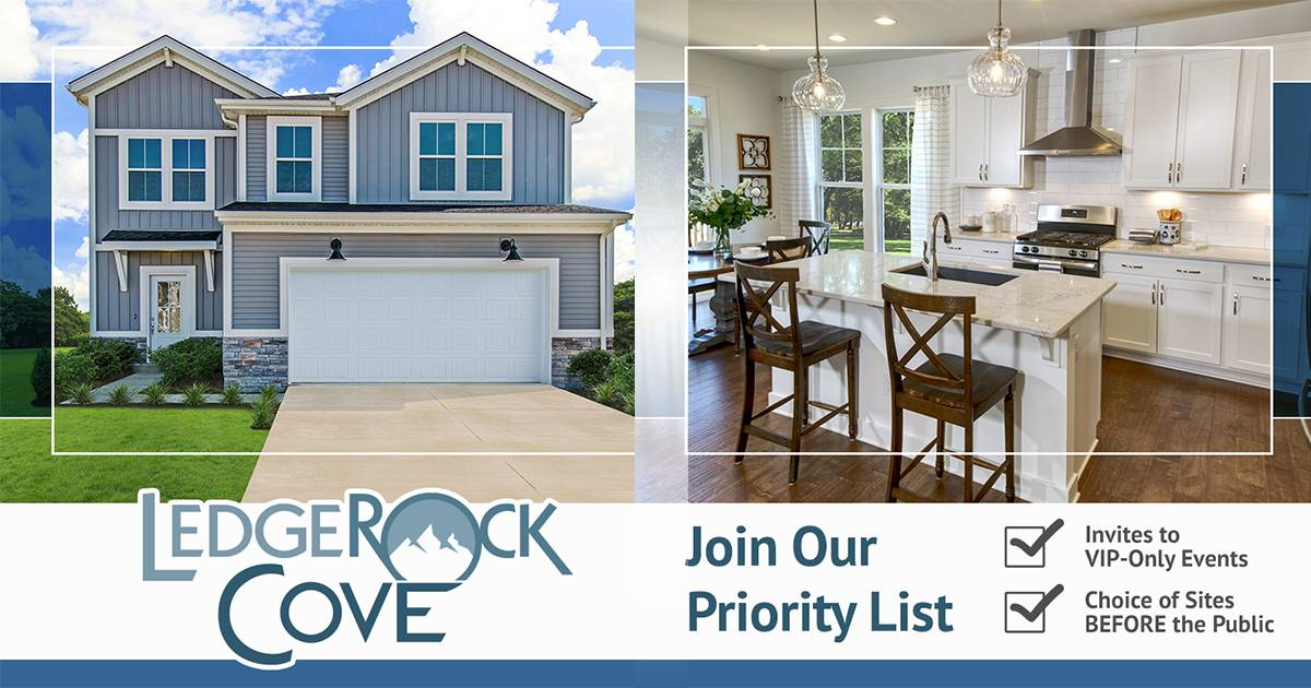 ledgerock cove louisville kentucky new homes