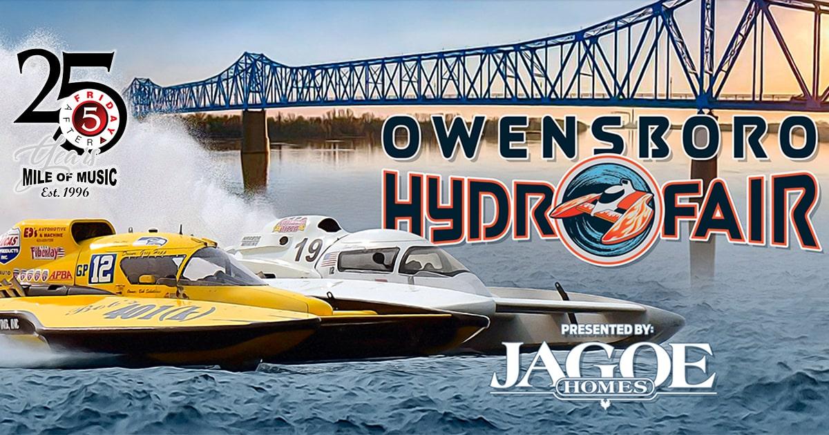 Owensboro HydroFair Event Presented by Jagoe Homes