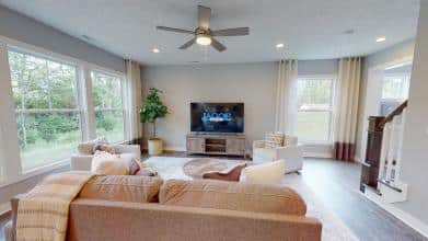 Jagoe Model HomesCumberland CraftsmanLone Oak VillageLouisville, KYhome goods, living room design, interior design