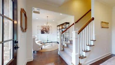 Jagoe Model HomesLittle Rock Craftsman w/ 3rd BayTurnberry at BerkshireNewburgh, INentry, staircase, interior design, masonite doors