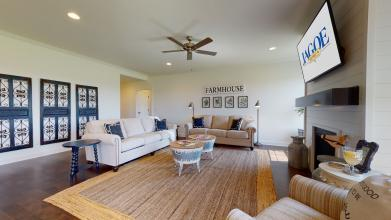 Jagoe Model HomesLittle Rock Craftsman w/ 3rd BayTurnberry at BerkshireNewburgh, INliving room, design, farmhouse