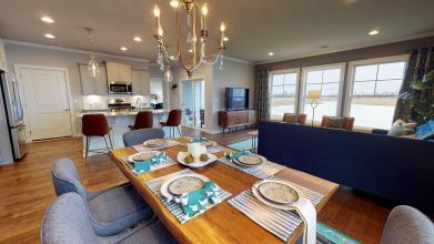 Mandolin dining room kitchen living room