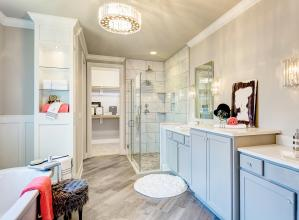 Pinot master bathroom